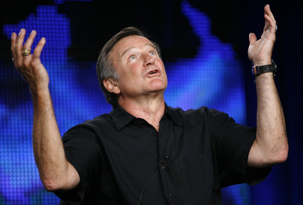 Robin Williams committed suicide