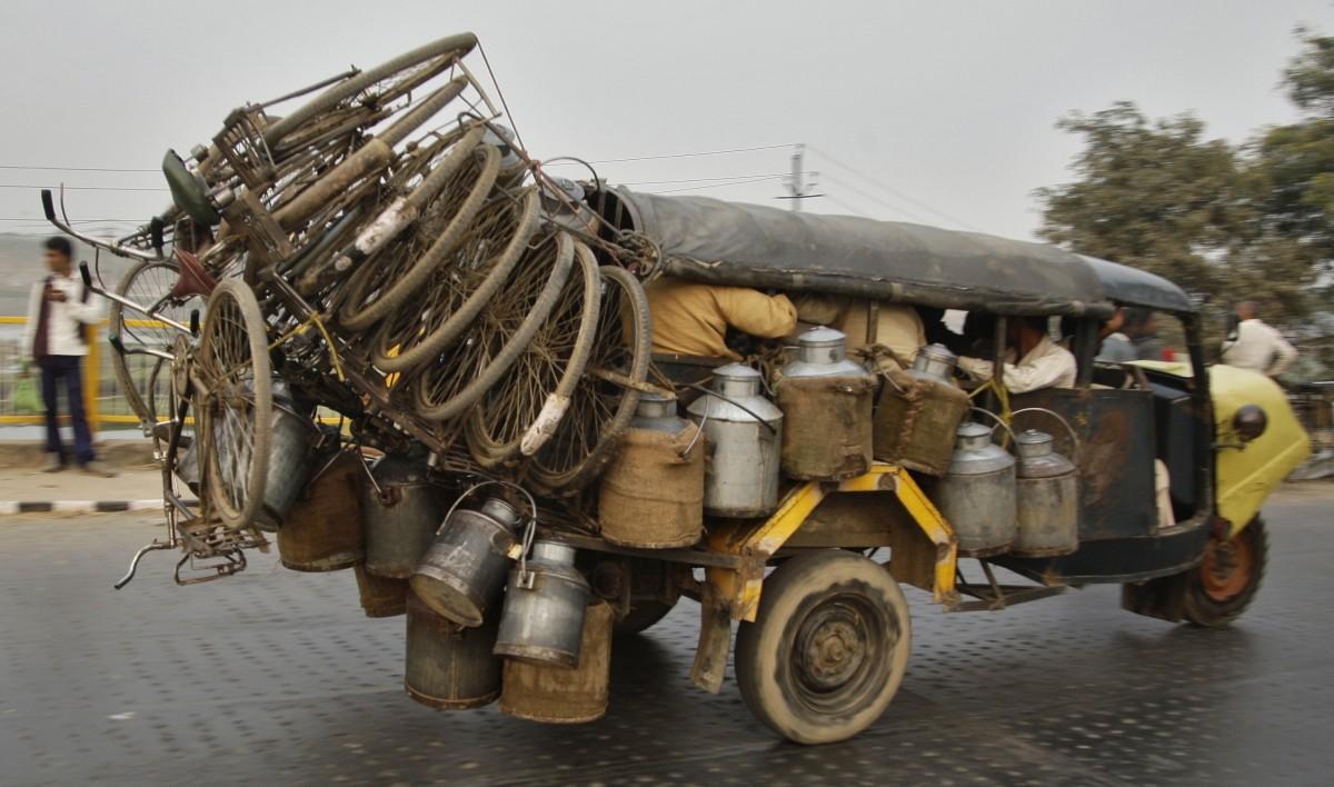 Overloaded India