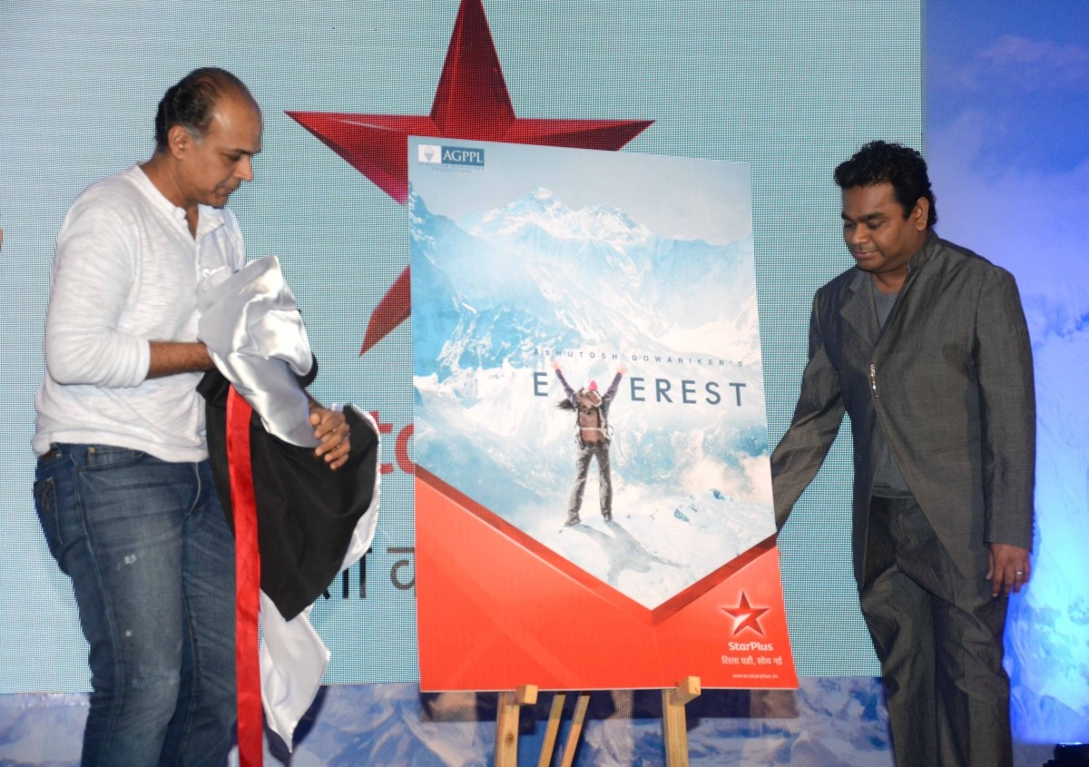 A.R. Rahman and Ashutosh Gowariker