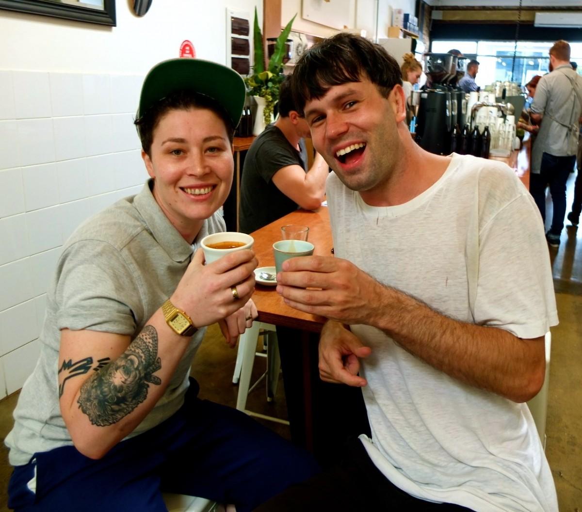 Coffee date with Mia Oopsididitagain Haberdashery-Jones