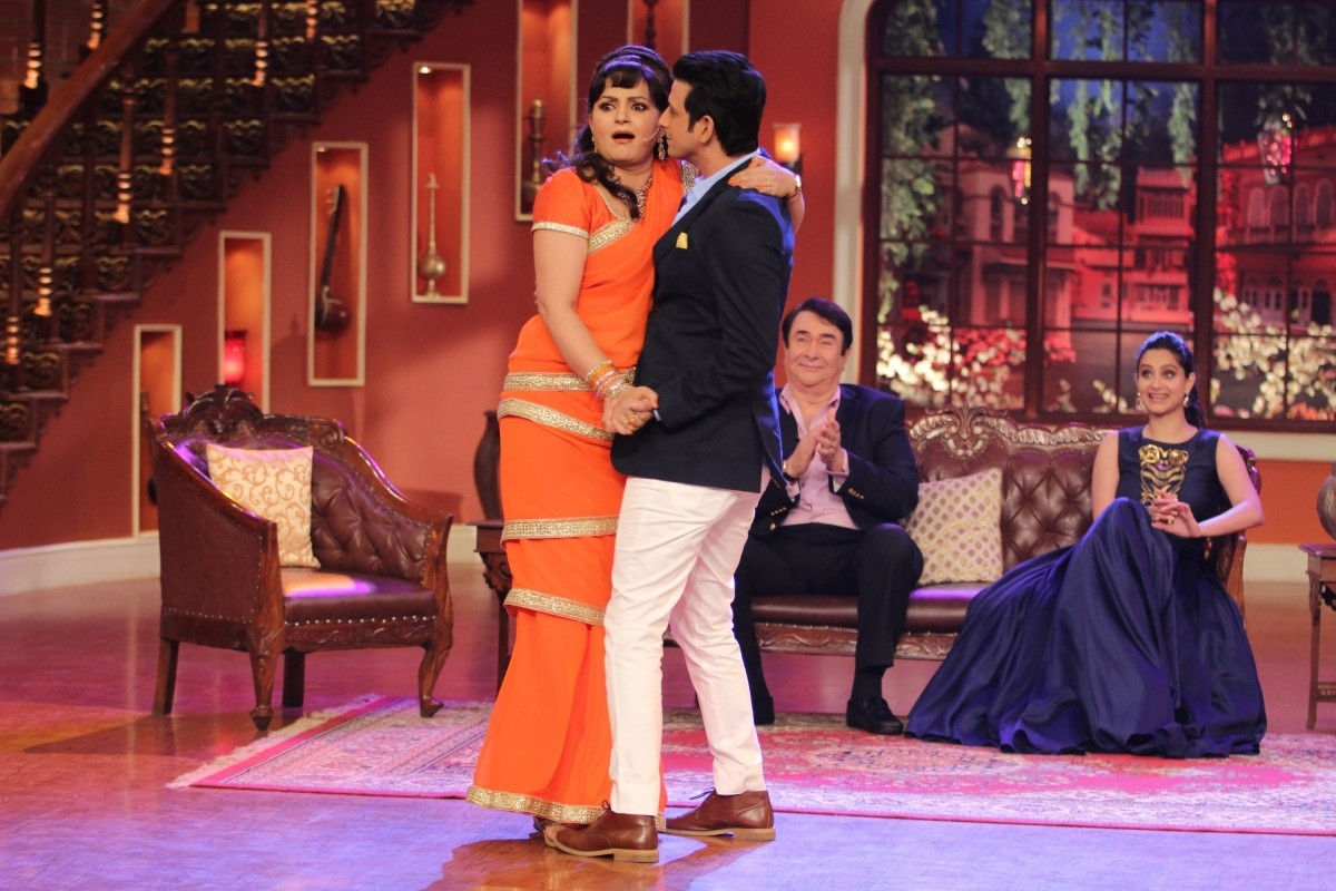 Rekha in 'Comedy Nights with Kapil'