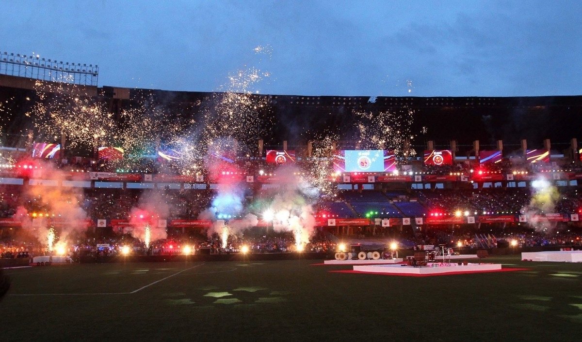 Opening Ceremony of Indian Super League (ISL)