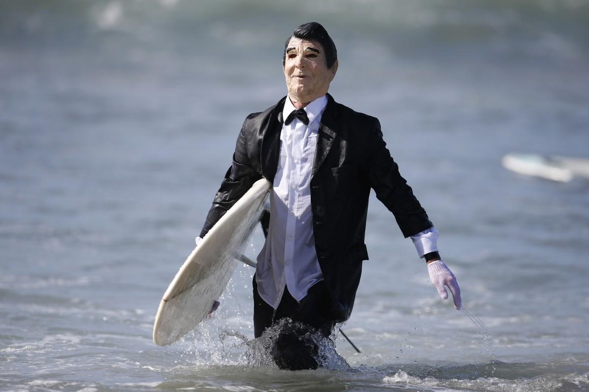 Boarding House Haunted Heats Halloween surf contest