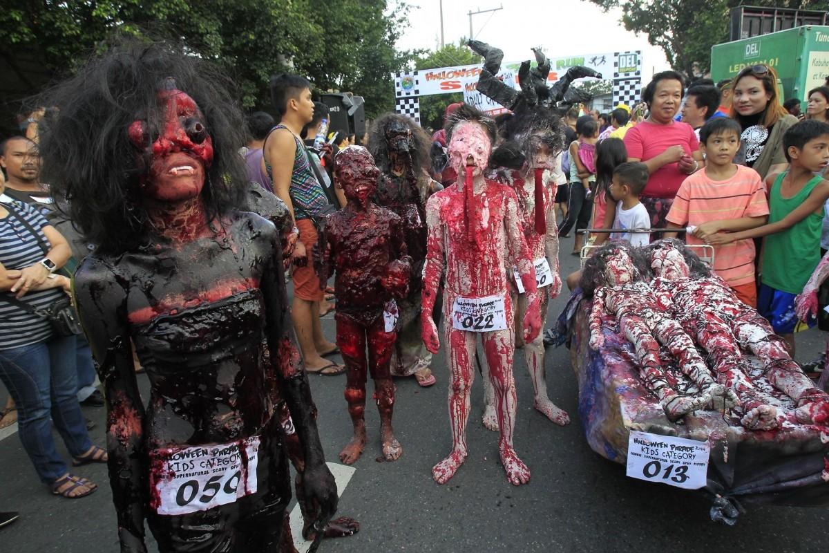 Halloween Parade in Marikina city