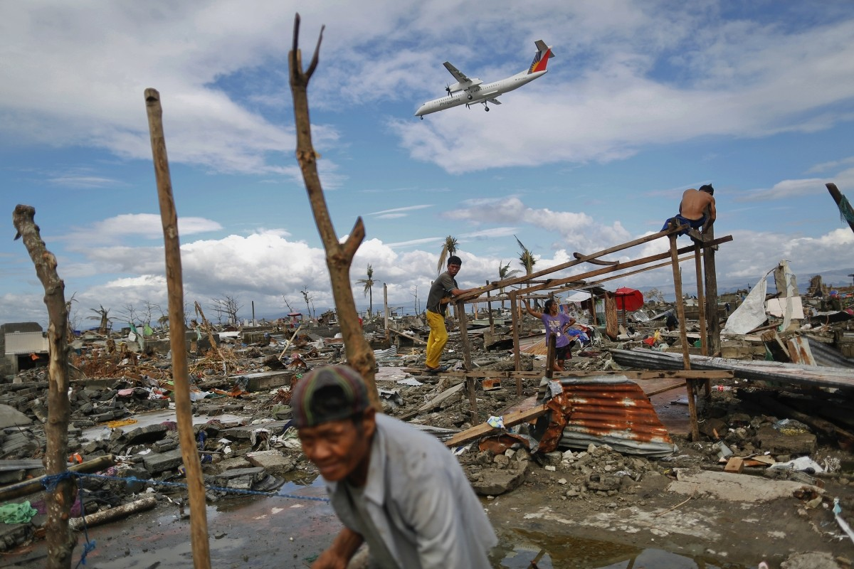 Super Typhoon Haiyan battered Tacloban city in central Philippines