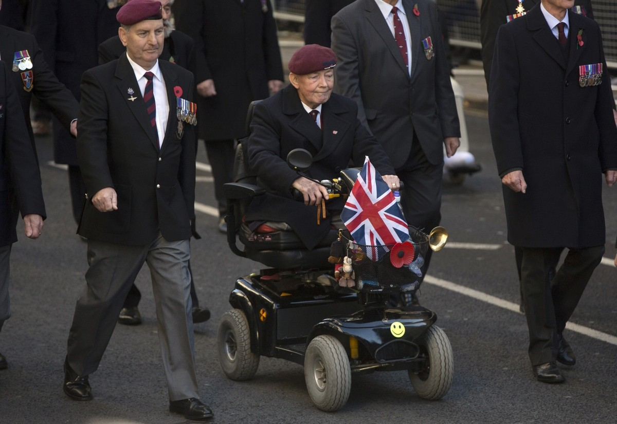 annual Remembrance Sunday parade