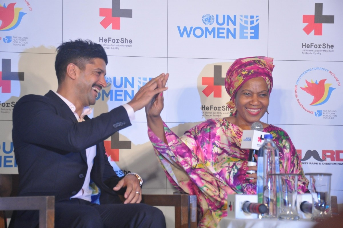 Farhan Akhtar Launches 'HeForShe' Campaign; First Man to be Chosen as UN Women's Goodwill Ambassador for South Asia