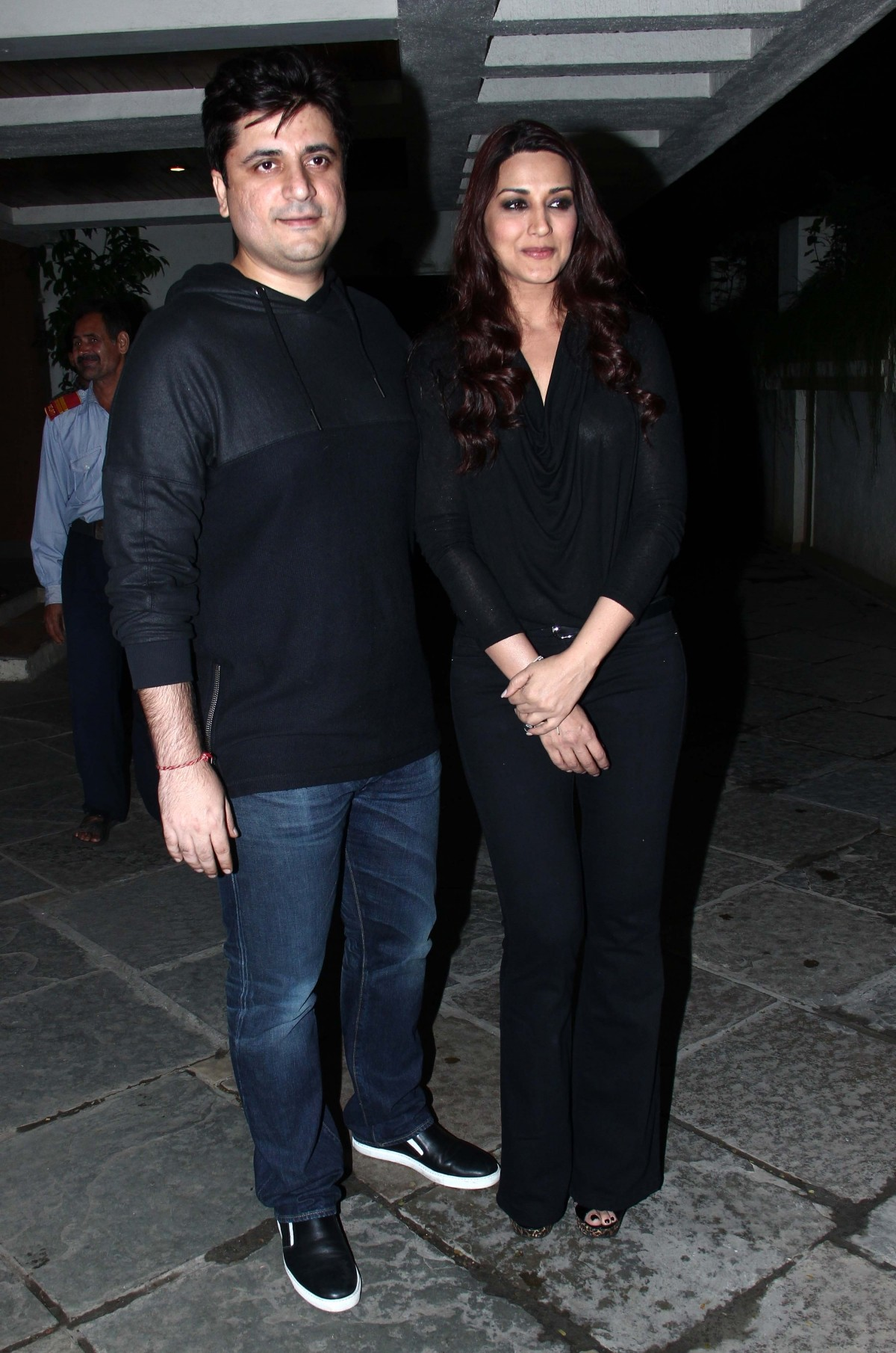 Sonali Bendre and Husband Goldie Behl