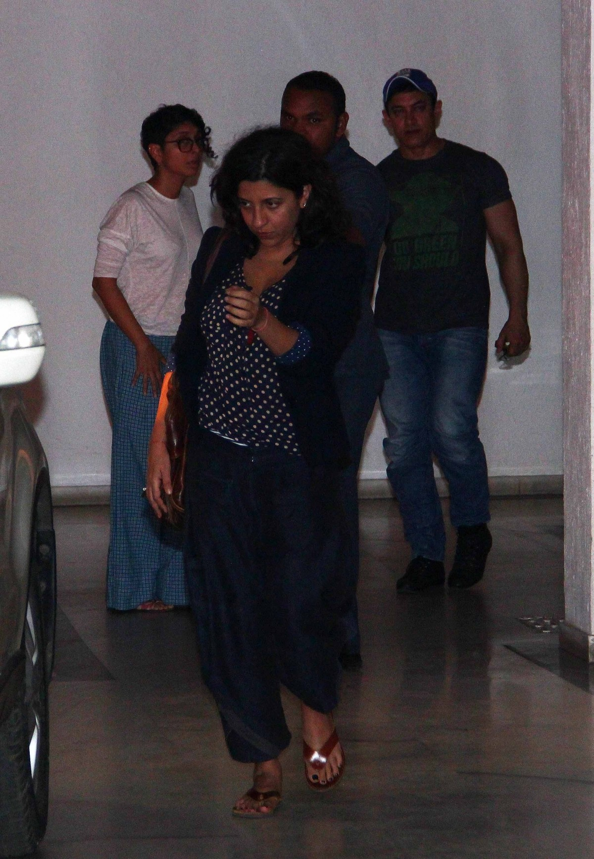 Celebs spotted at Karan Johar's Residence