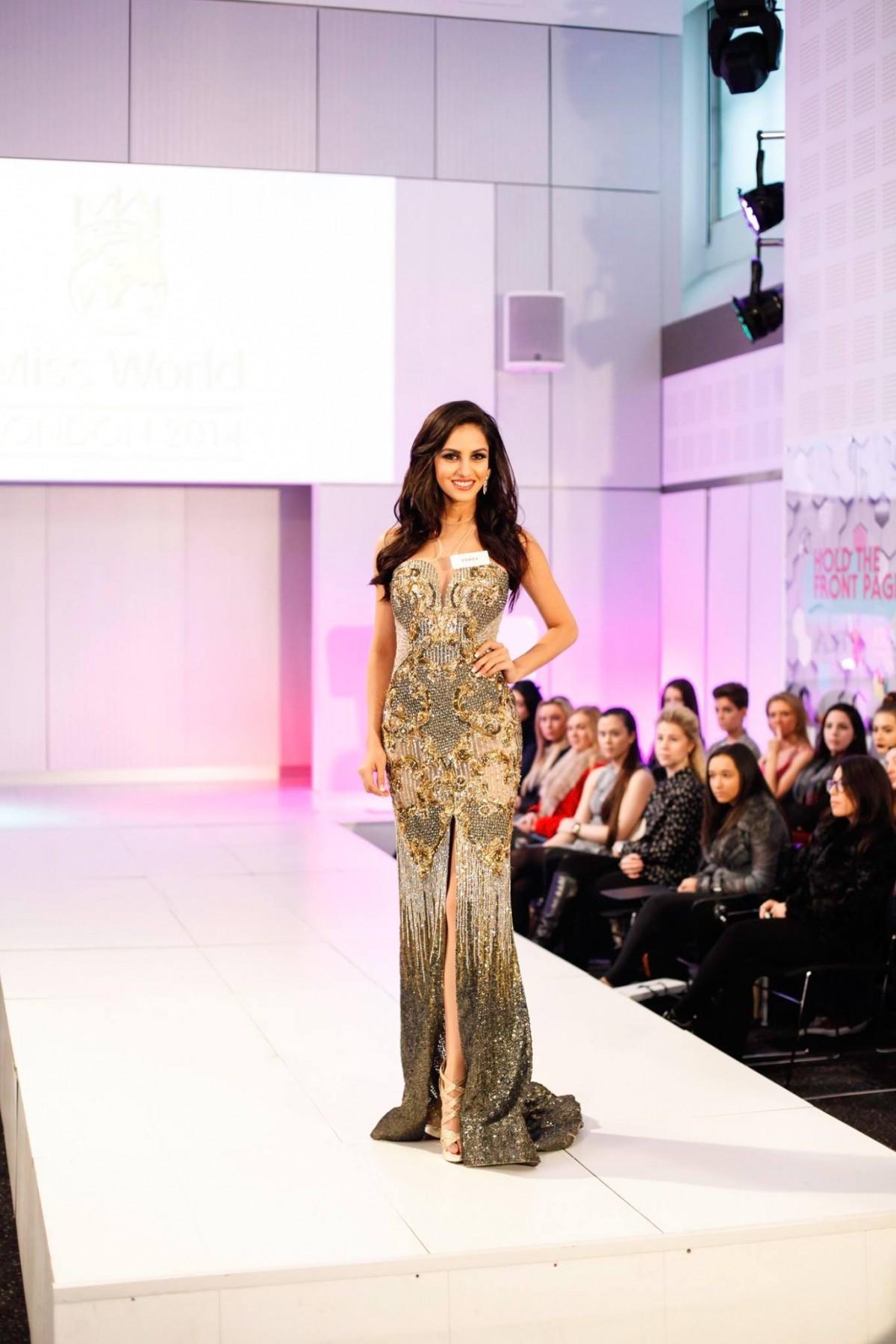 Miss World India Koyal Rana