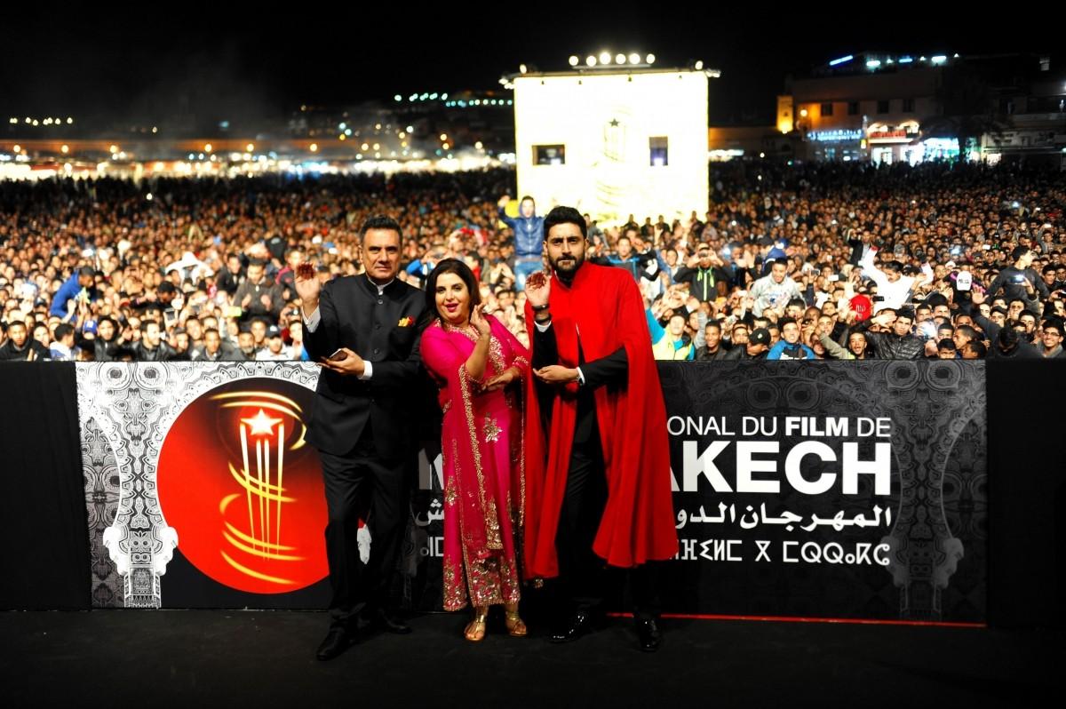 'Happy New Year' screened at 14th Marrakech International Film Festival; Abhishek Bachchan, Farah Khan, Boman Irani in Pictures