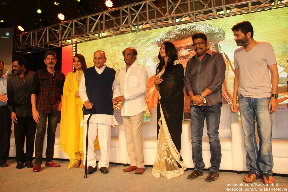 Lingaa cast and crew
