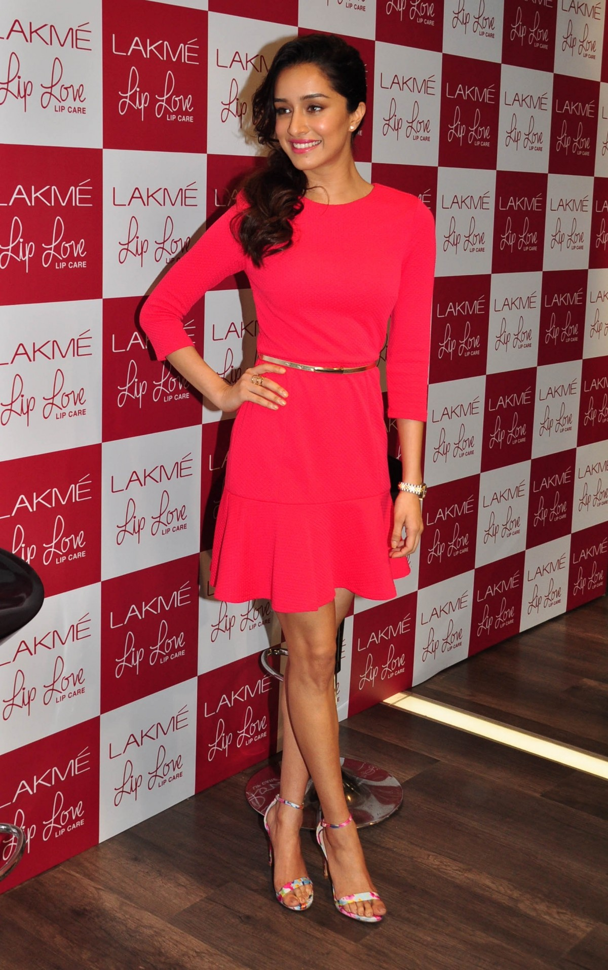 Shraddha Kapoor Charm Audience in Pink Dress at Lakme Event