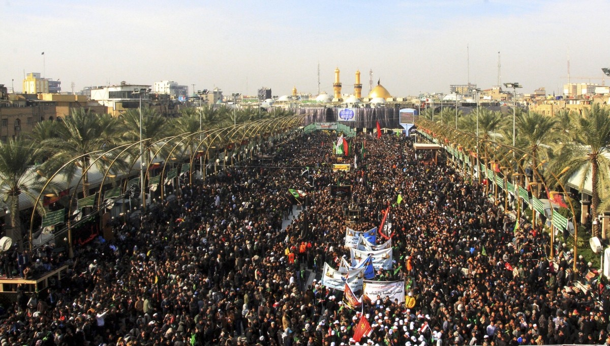 Image result for Millions attend Arbaeen commemoration in Karbala