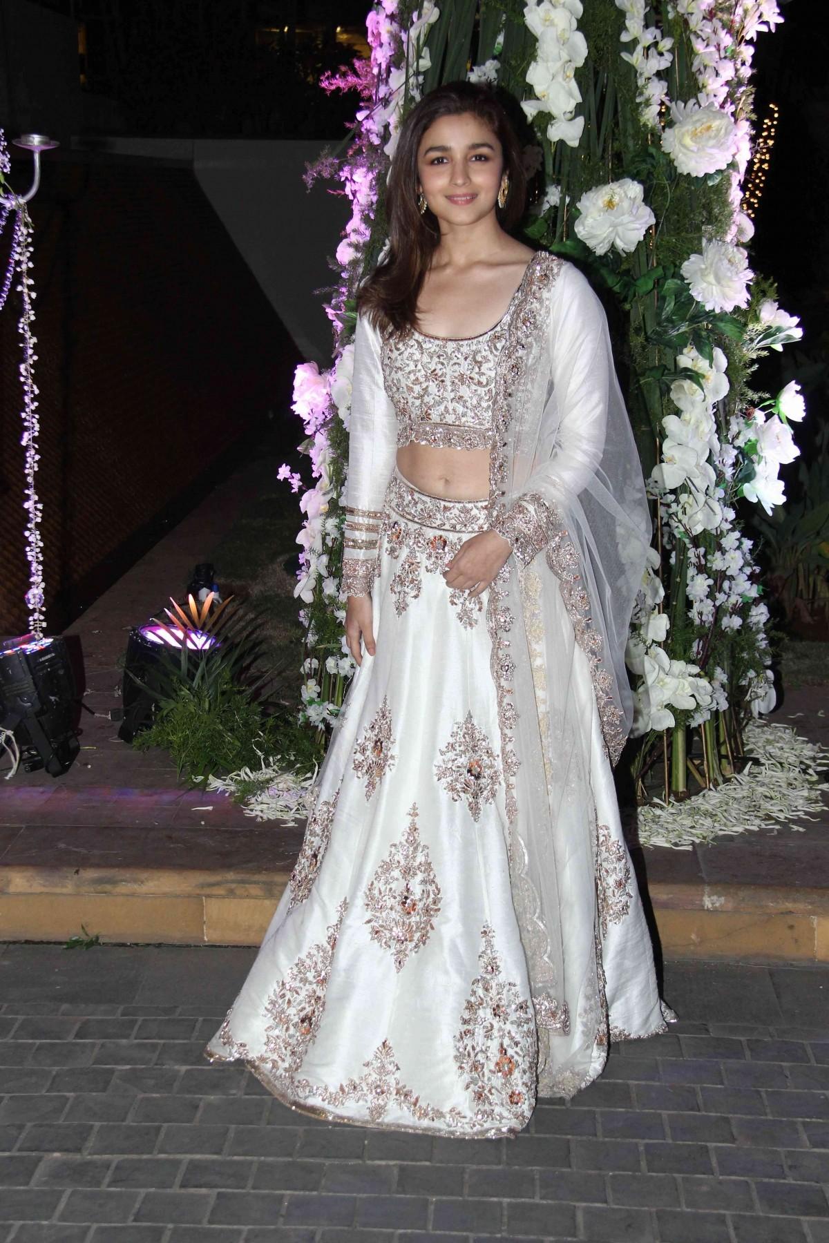 Stars Shine at Designer Manish Malhotra's niece Sangeet Ceremony