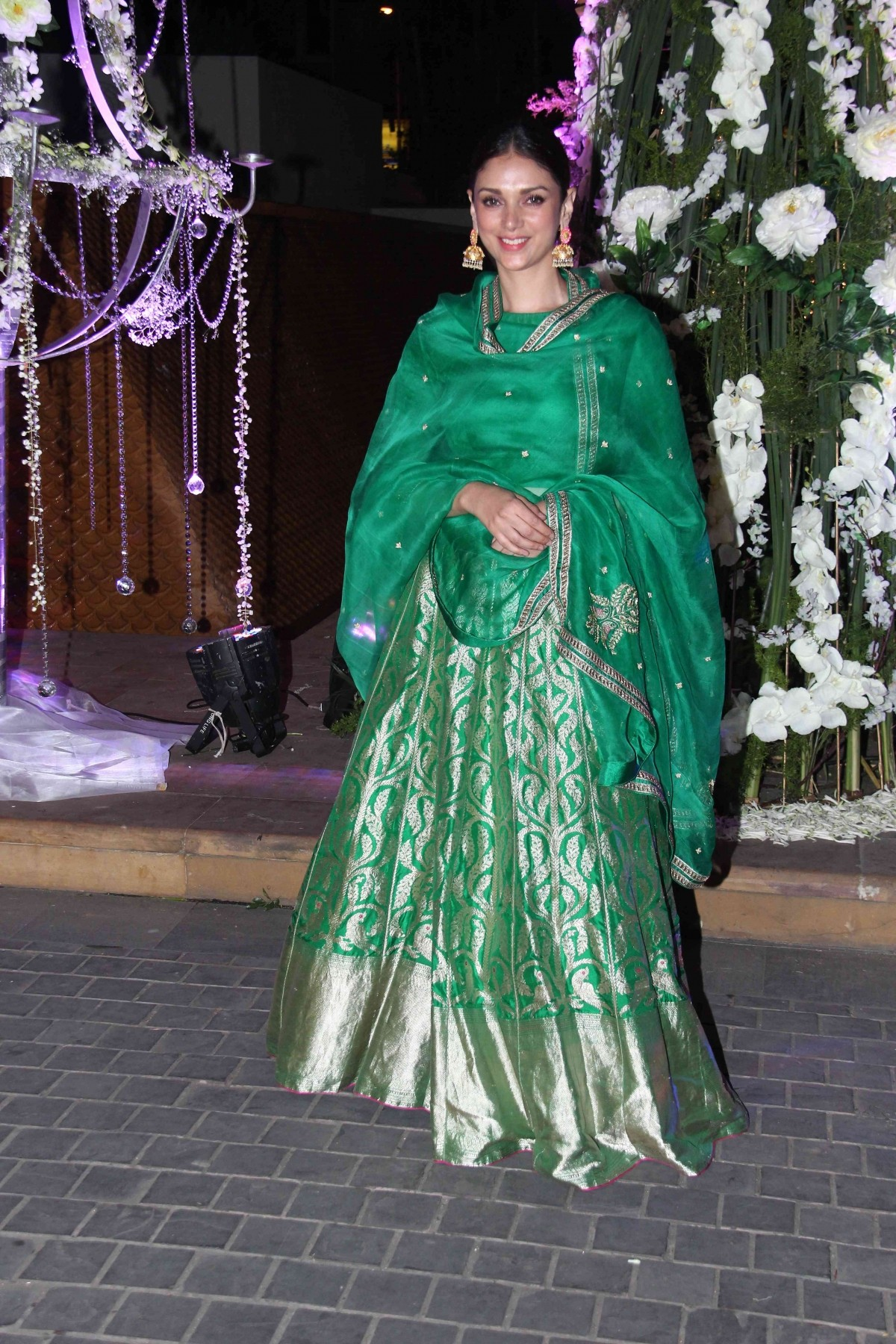 Stars Shine at Designer Manish Malhotra's niece Sangeet Ceremony