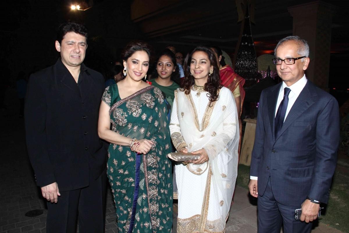 Sriram Madhav Nene, Madhuri Dixit, Juhi Chawla and Jay Mehta