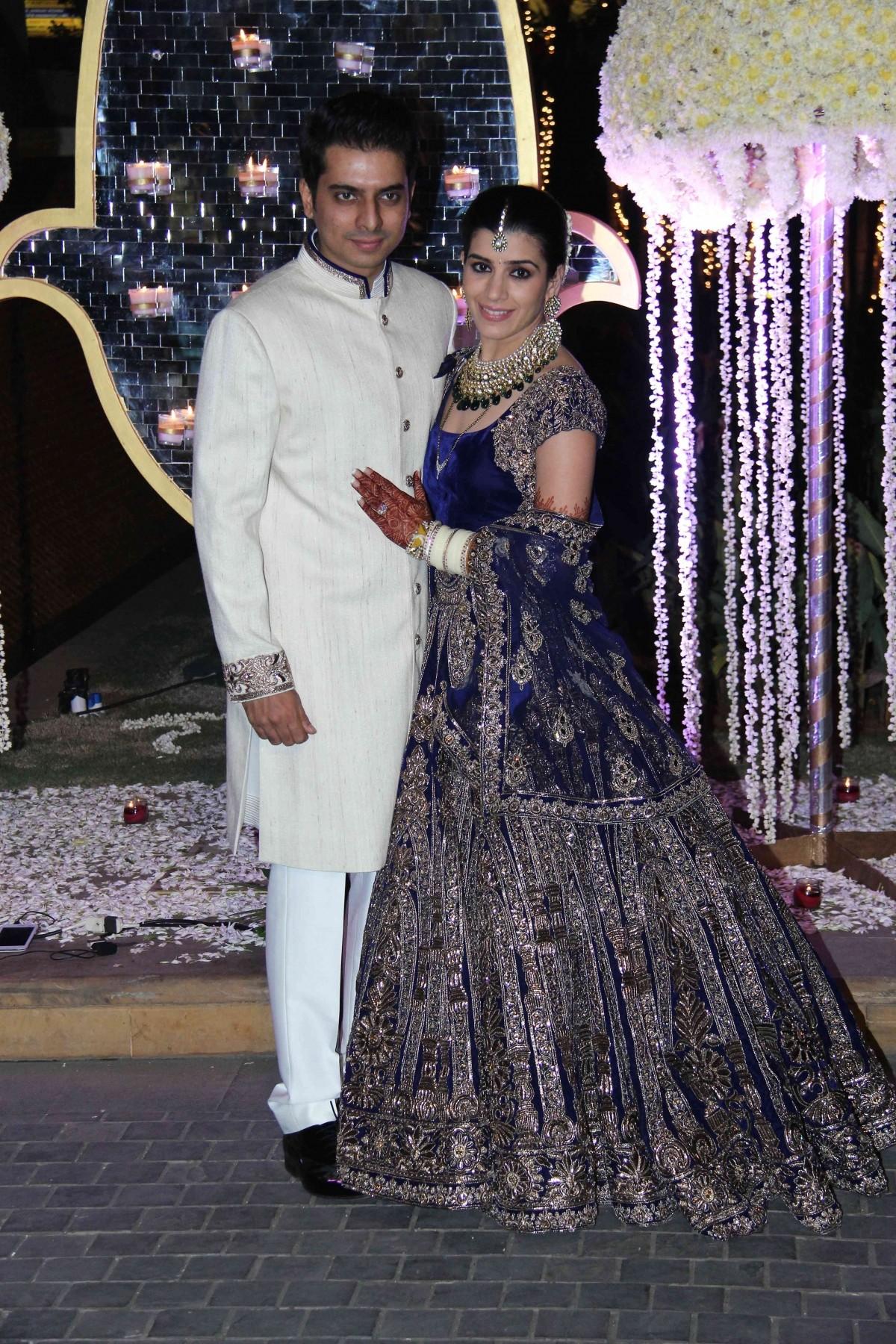 Riddhi Malhotra and Tejas Talwalkar