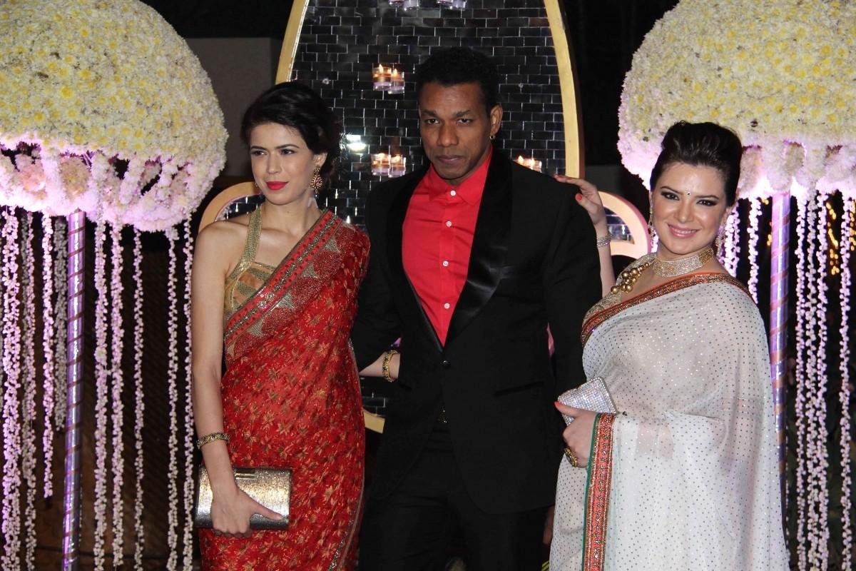 Sucheta Sharma, Harrison James and Urvashi Sharma