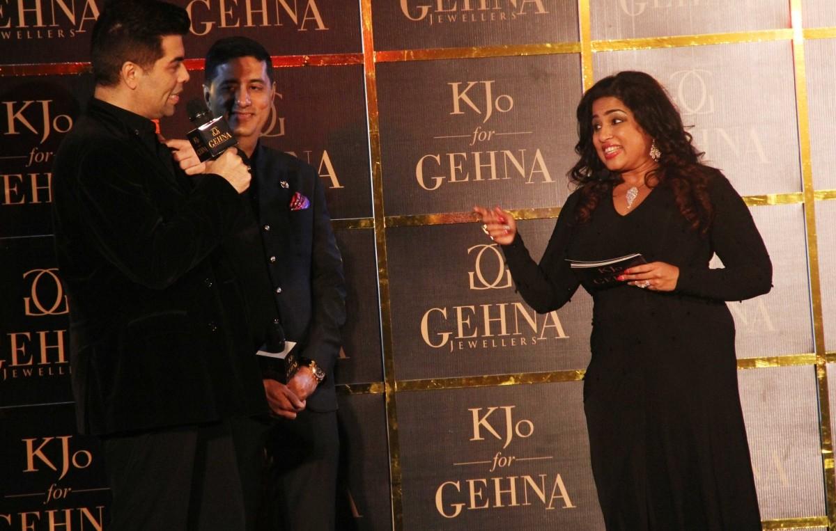 Celebs at KJo for Gehna launch