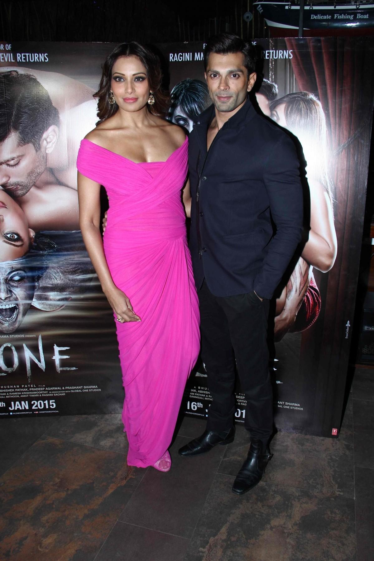 Bipasha and Karan Singh Grover attend