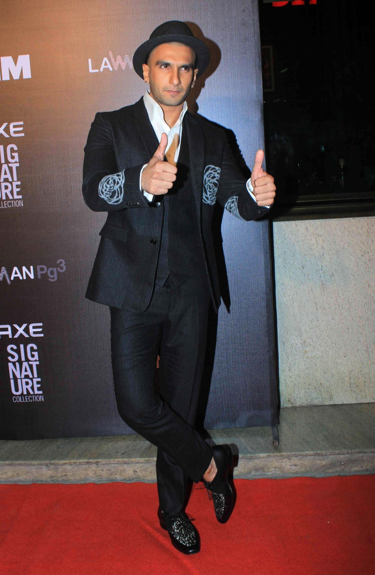 Ranveer Singh at FHM Bachelor of 2014 award function
