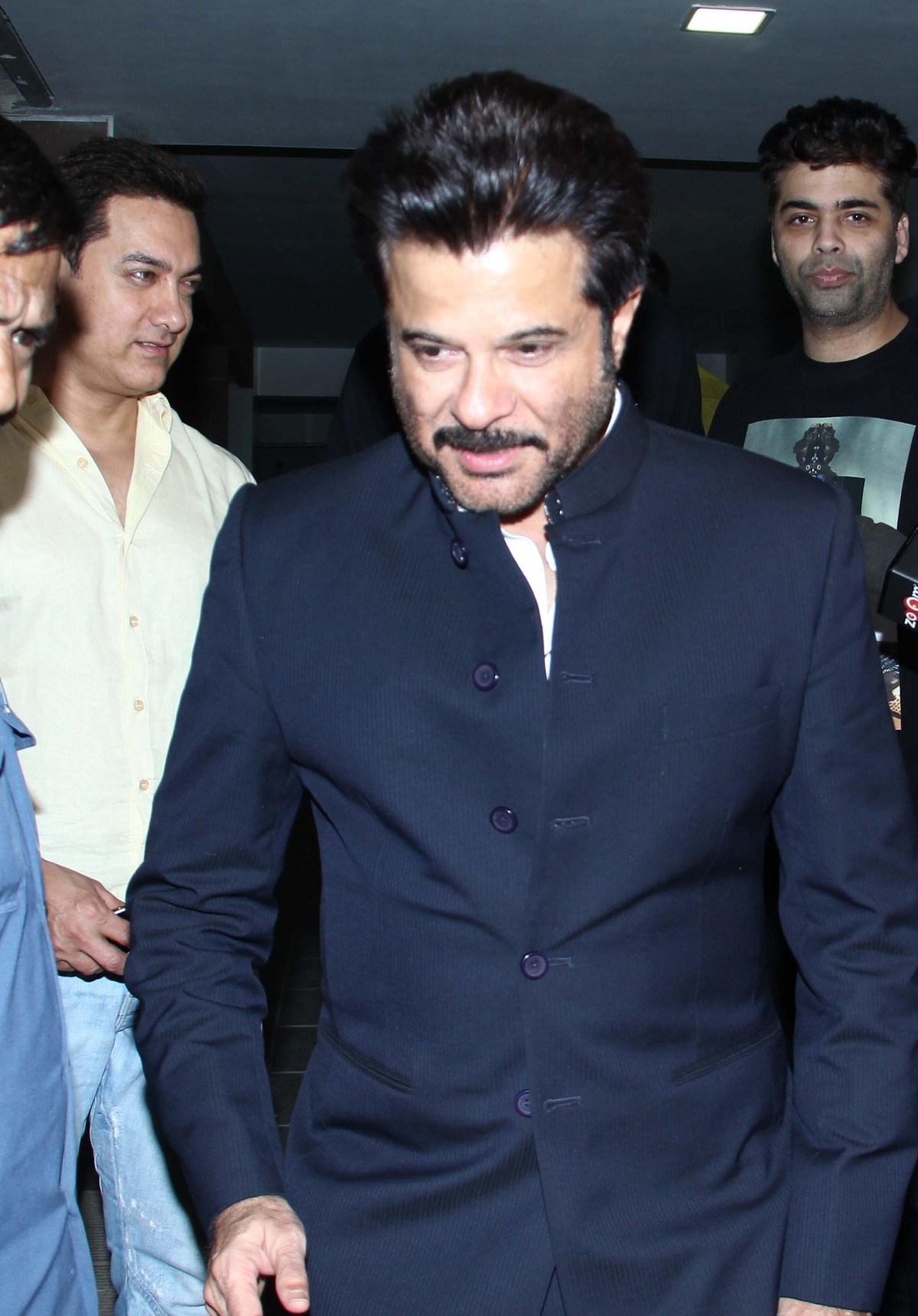 Ranbir Kapoor, Anil Kapoor Spotted at 'PK' star Aamir Khan's Residence