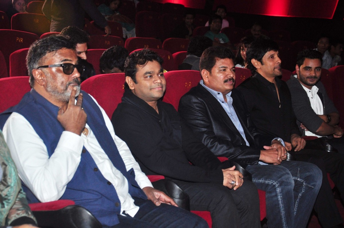 Vikram, A.R. Rahman Attends Tamil Film 'I' Trailer Launch Event
