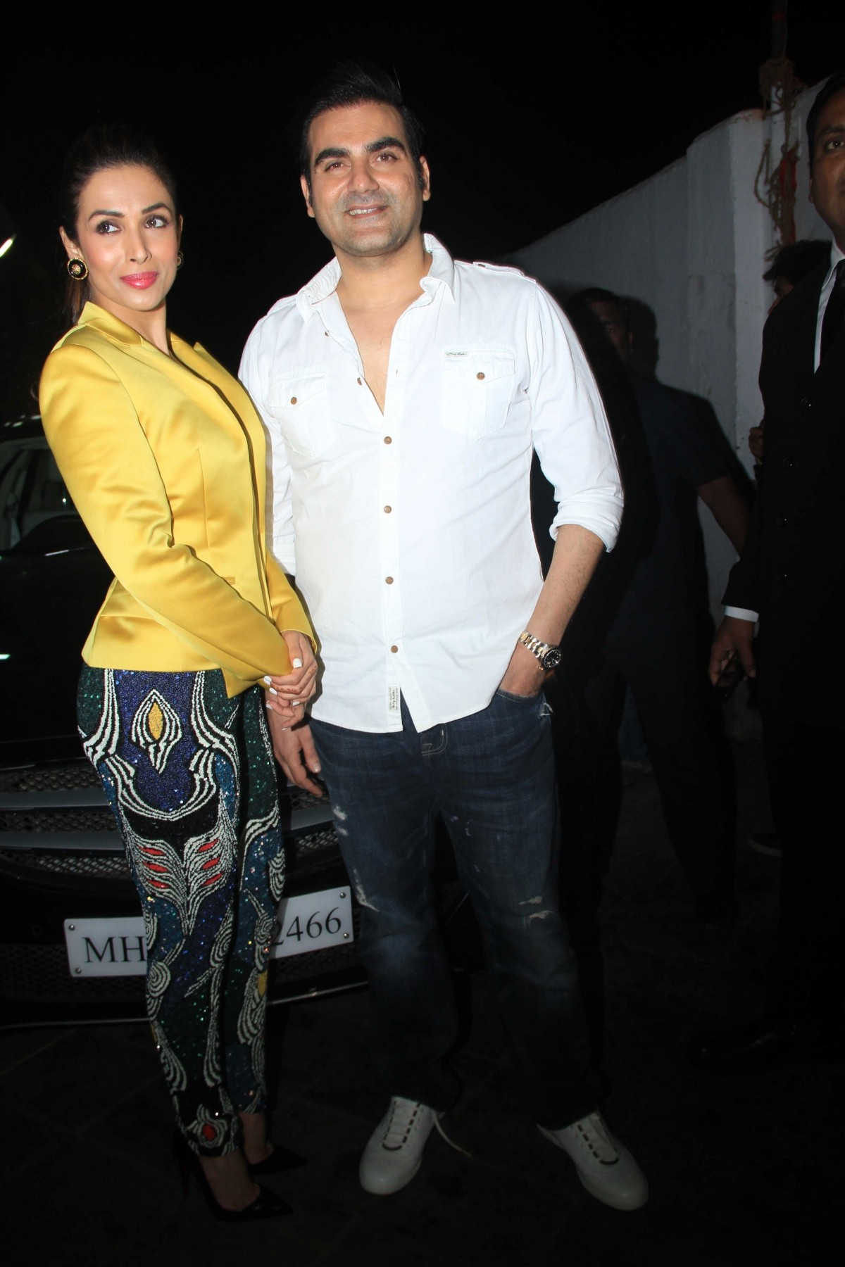 Arbaaz Khan and Malaika Arora Khan during