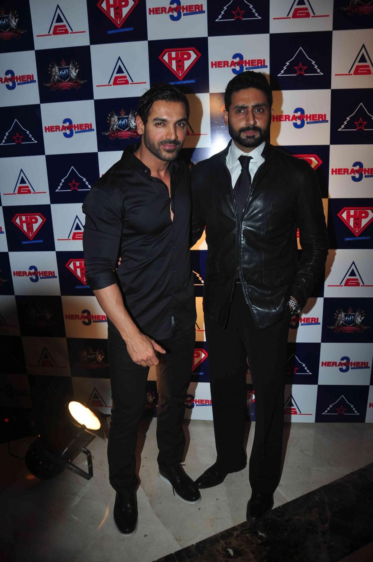 Abhishek Bachchan, John Abraham in 'Hera Pheri 3'