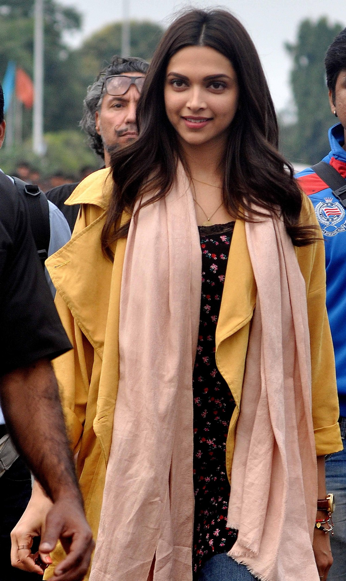 Deepika Padukone on sets of 'Tamasha'