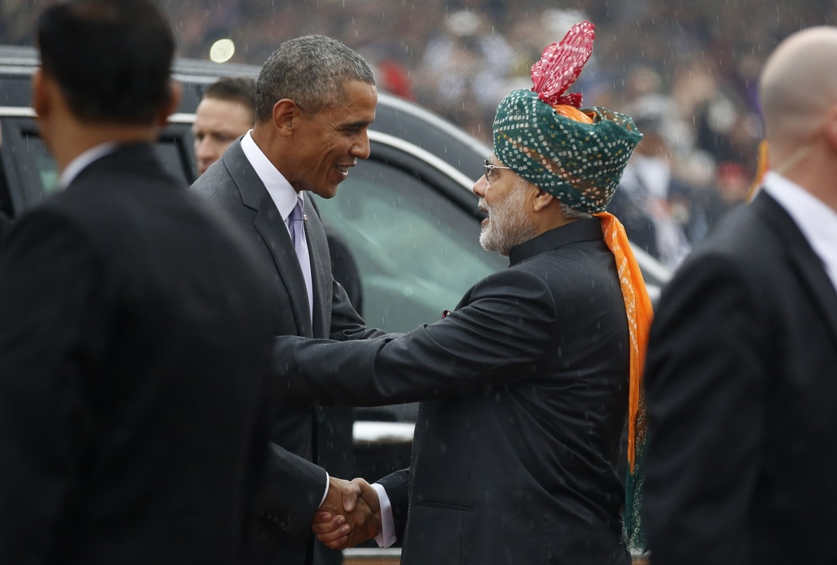 Obama india visit republic day