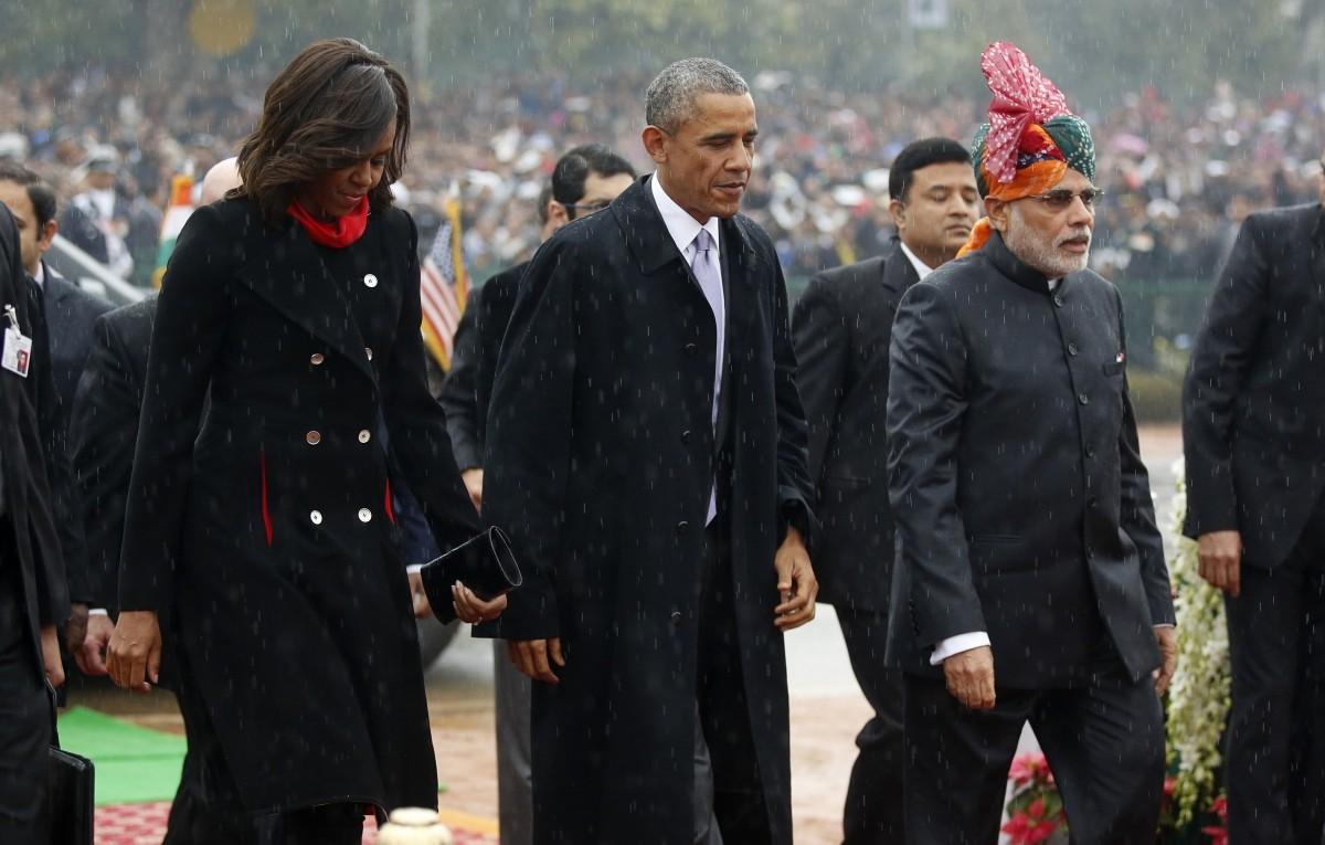 ObamainIndia republic day