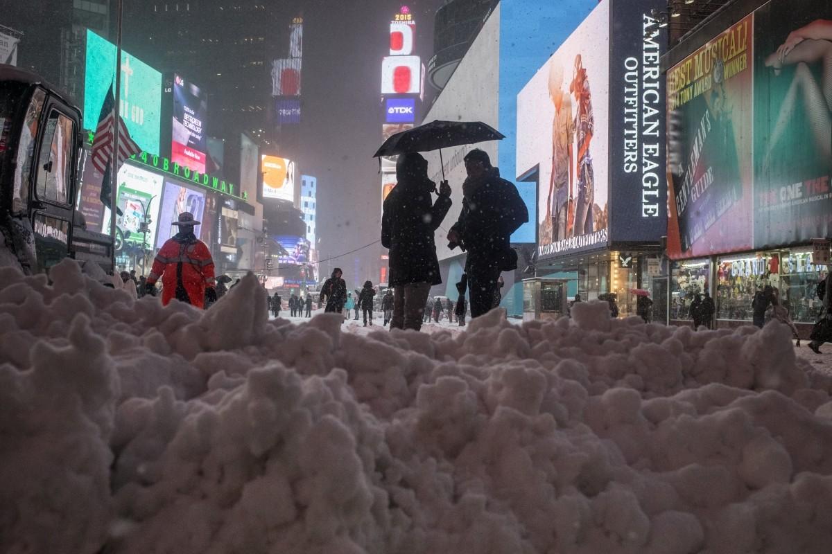 Blizzard in New York