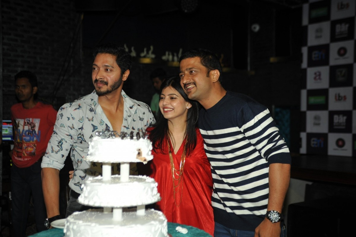 Shreyas Talpade birthday bash