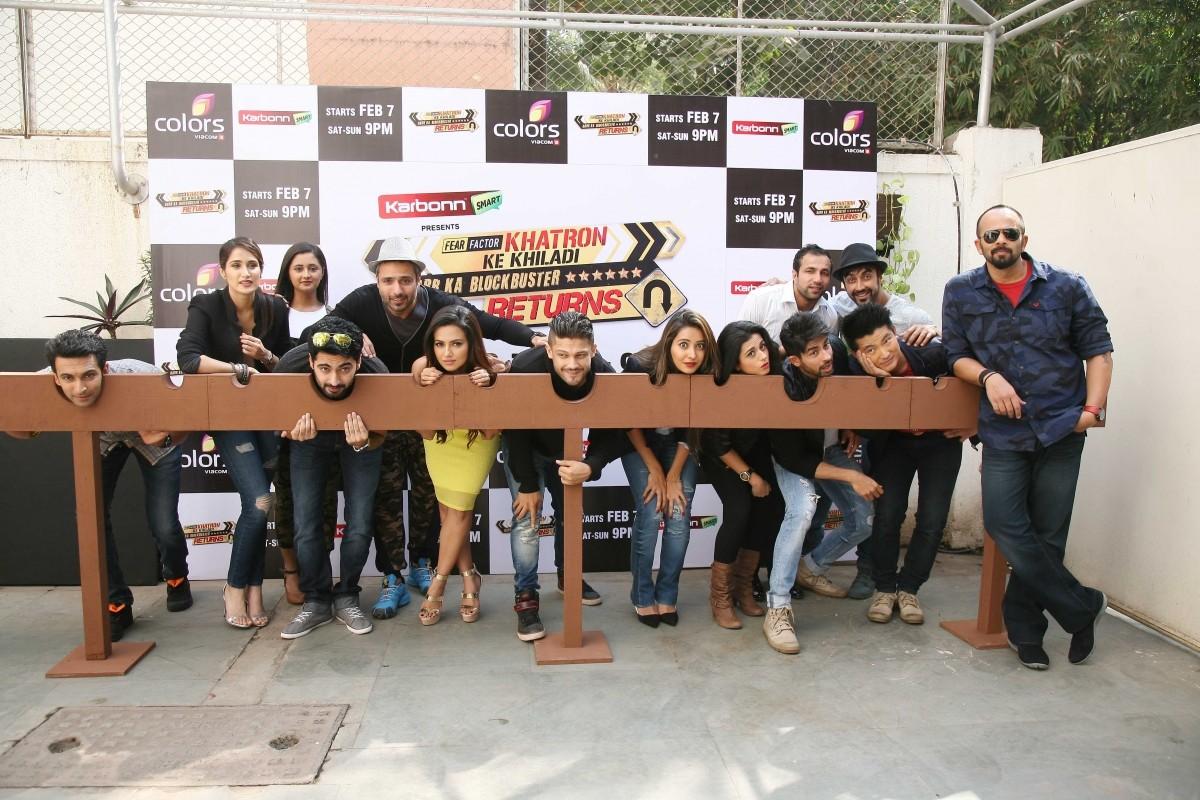 Rohit Shetty and Other Participants At Launch of 'Khatron Ke Khiladi 6'