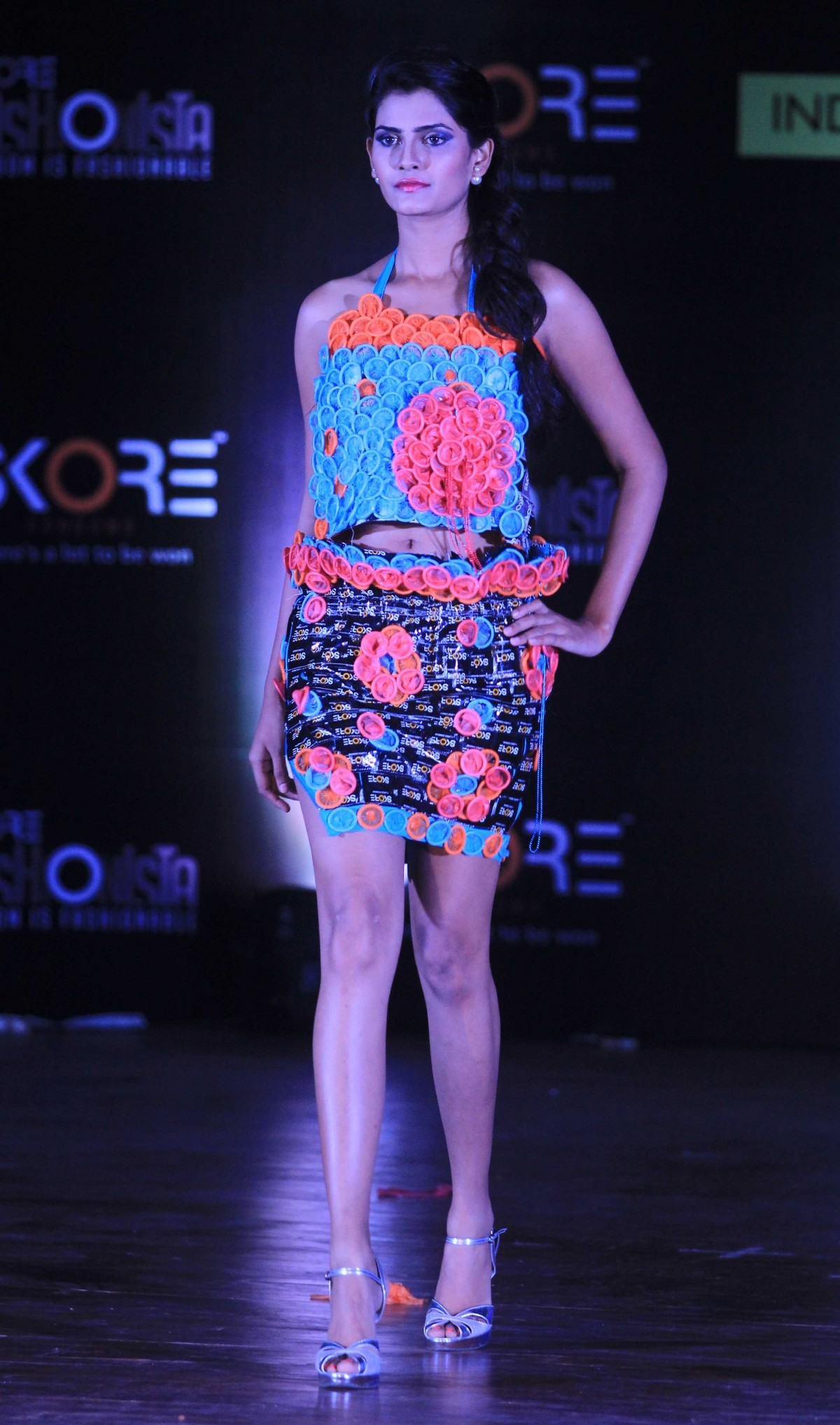 Skore Condom Fashion Show