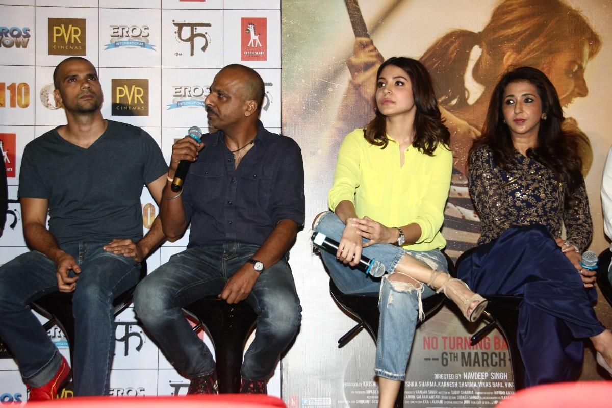 'NH10': Anushka Sharma, Neil Bhoopalam Stuns At Trailer Launch Event