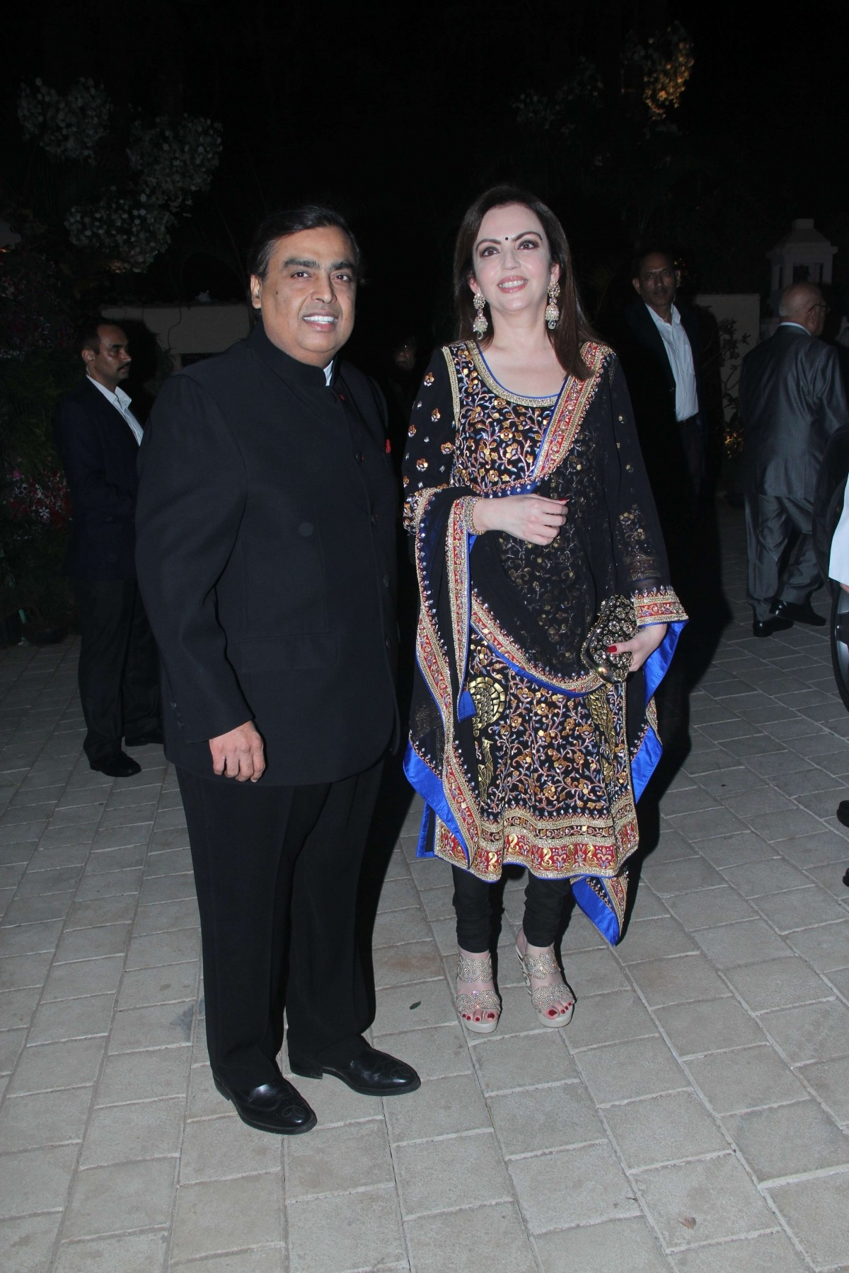 Anil Ambani and Nita Ambani