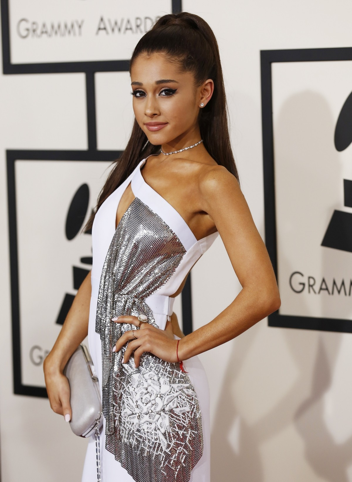 Arianda Grande at Grammy Awards 2015.
