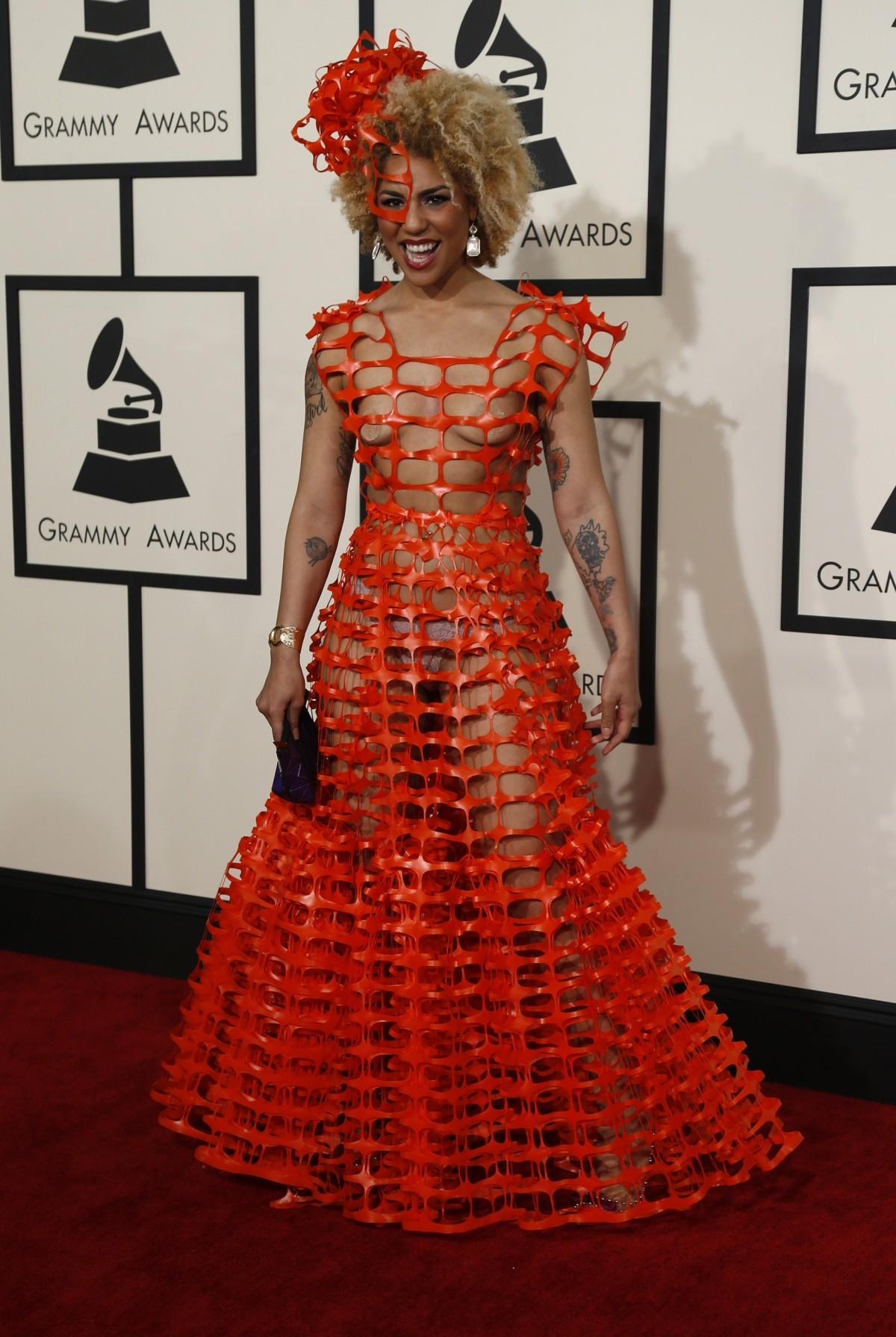 Joy Villa at Grammy Awards 2015