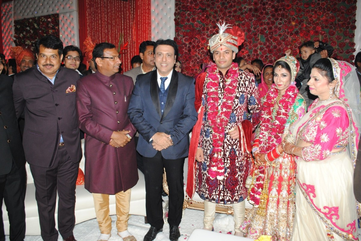 Krishan Choudhary (Bride's father), jai Karan Choudhary (Groom's father), Govinda, Atin and Lalita