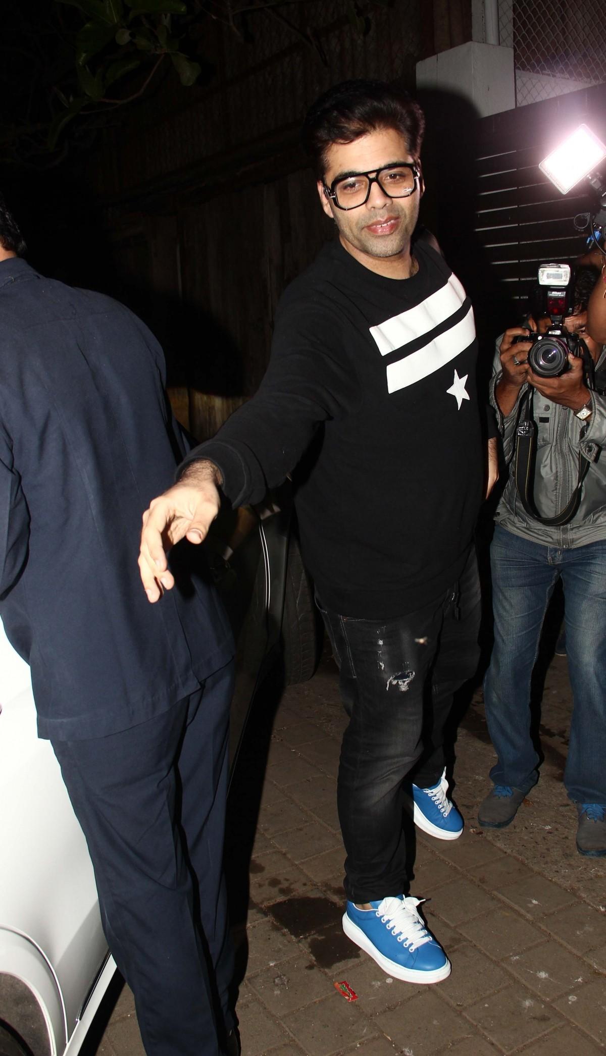 Kareena Kapoor Khan, Karan Johar, Jacqueline Fernandez Spotted At Zoya Akhtar's House Party