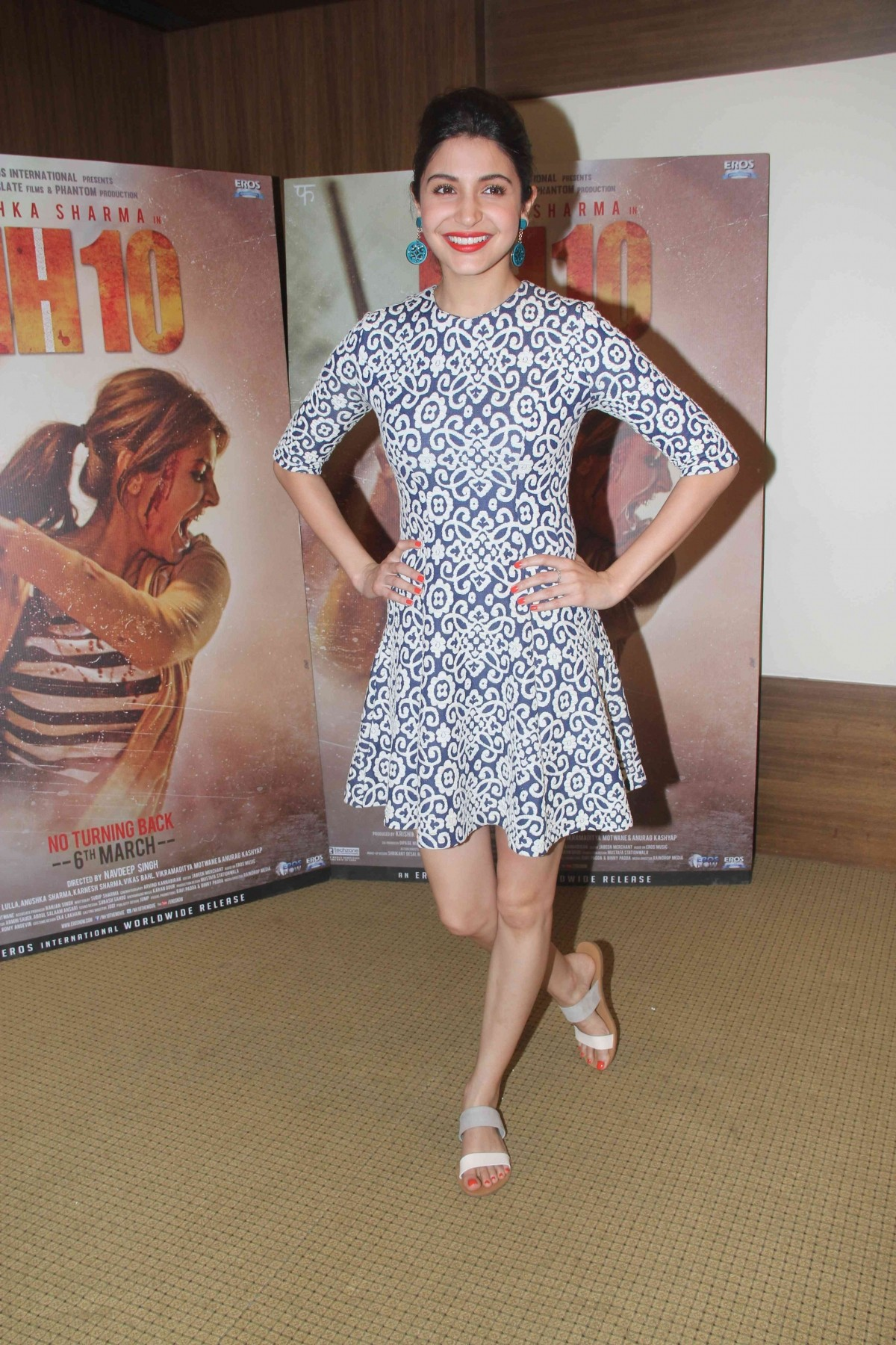 'NH10': Anushka Sharma, Neil Bhoopalam Looks Classy at Film's Promotional Event