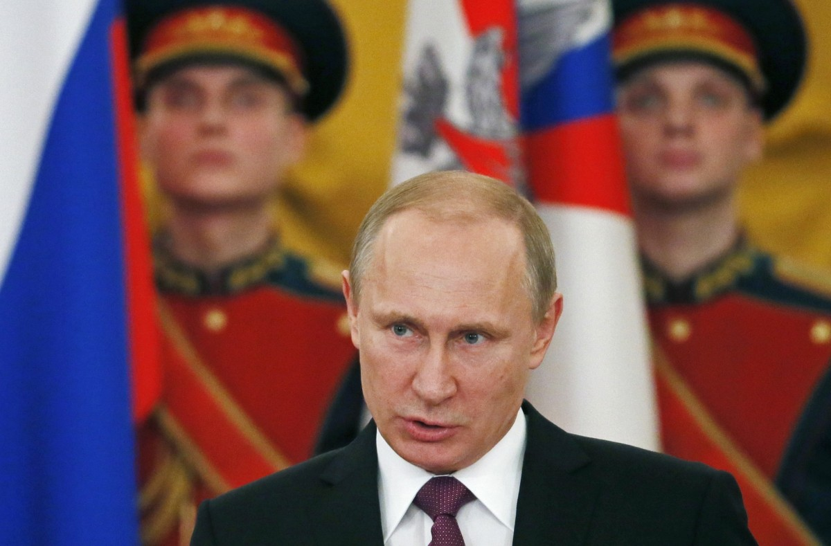 Russian President Vladimir Putin has said that he hopes there won't be an