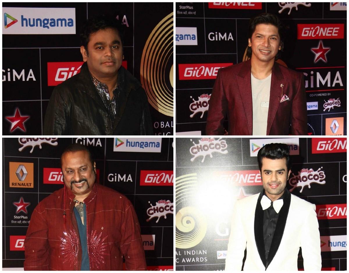 AR Rahman, Shaan, Leslie Lewis and Manish Paul