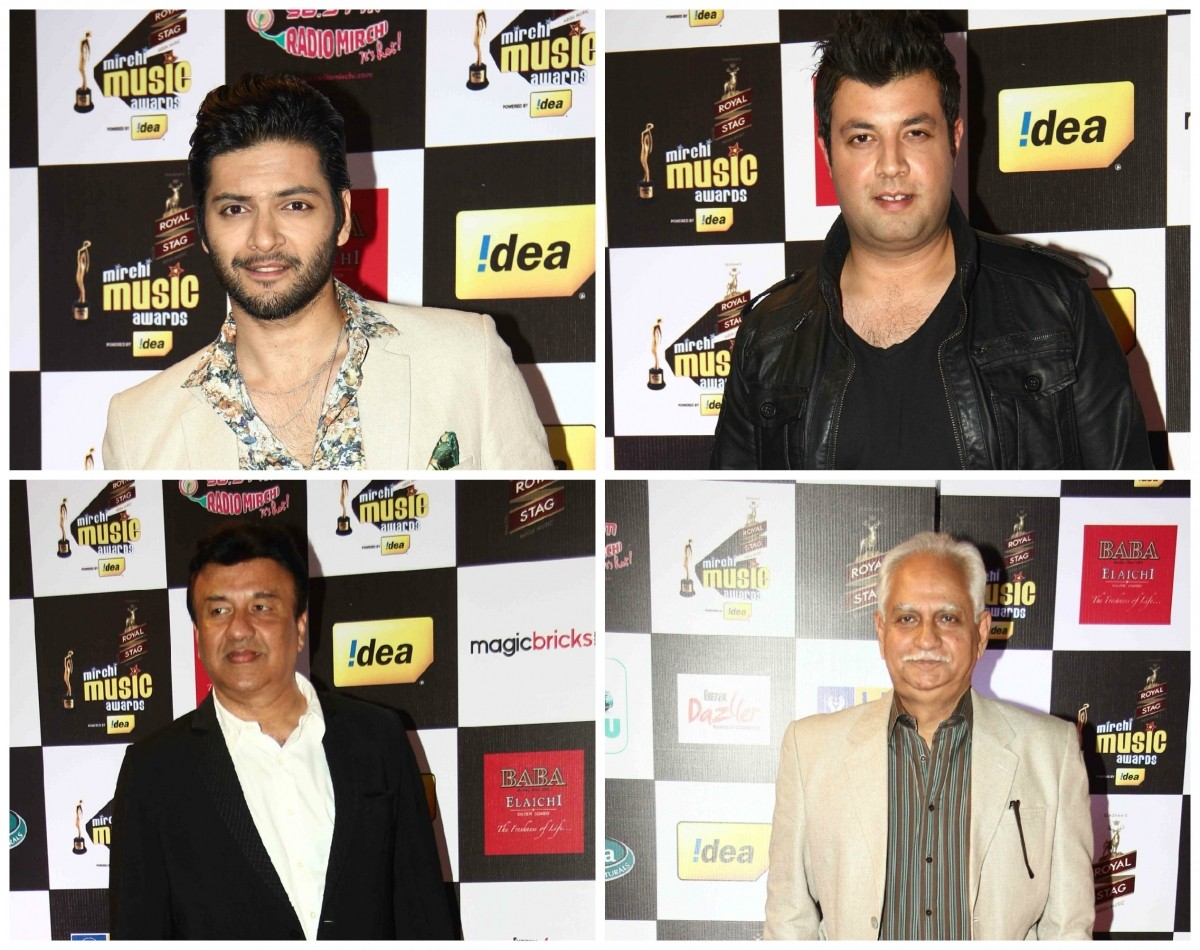 Celebs at Mirchi Music Awards