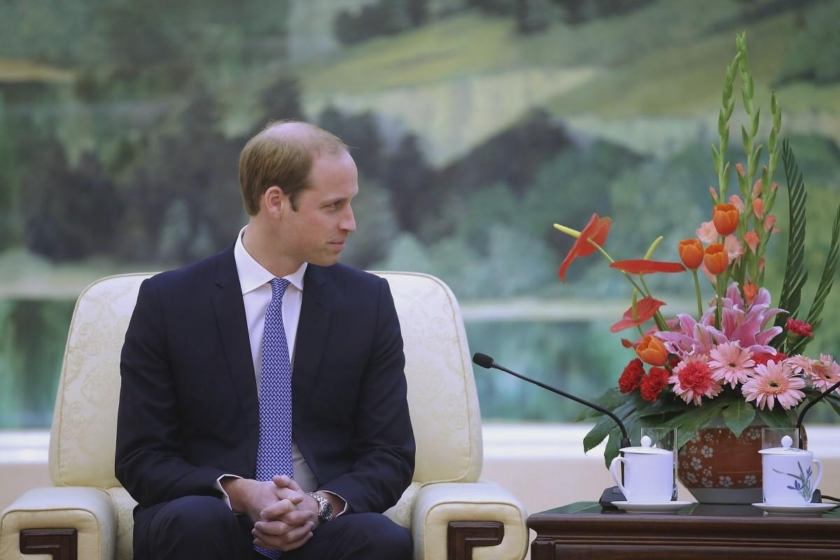 Prince William in Beijing
