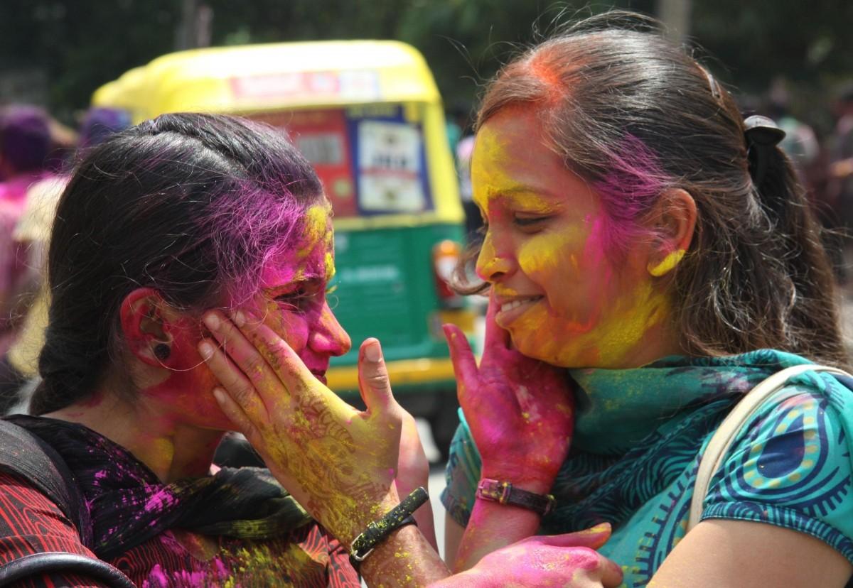 Bangalore Holi Celebrations