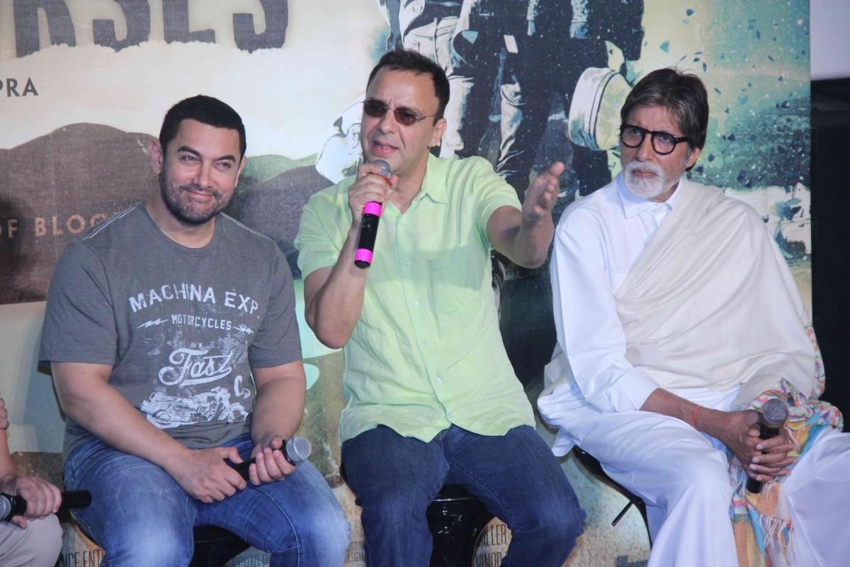 'Broken Horses': Amitabh Bachchan and Aamir Khan Promotes Vidhu Vinod Chopra's Hollywood Film's Trailer